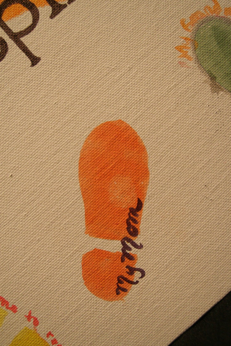 Orange Footstep