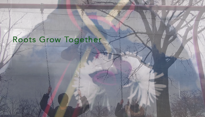 a scene from Roots Grow Together